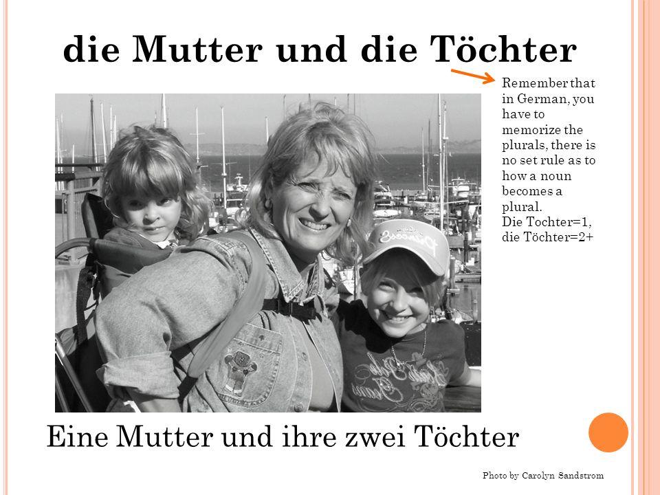 die Mutter und die Töchter