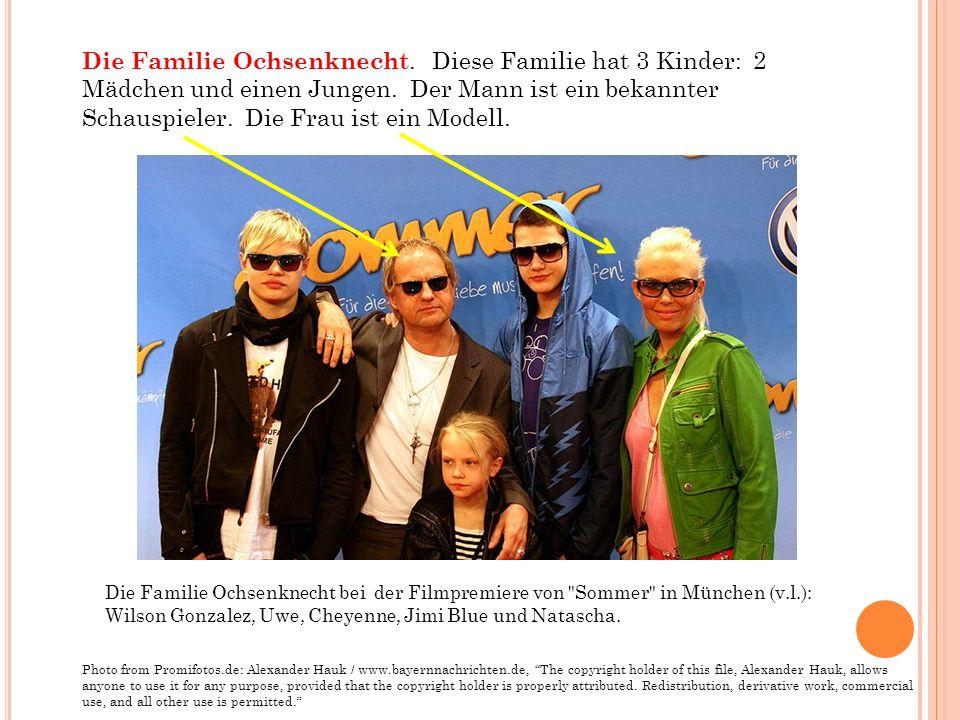 Die Familie Ochsenknecht