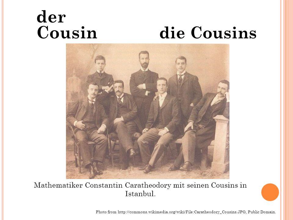 Mathematiker Constantin Caratheodory mit seinen Cousins in Istanbul.