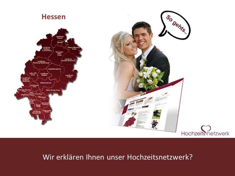 Wir erklären Ihnen unser Hochzeitsnetzwerk