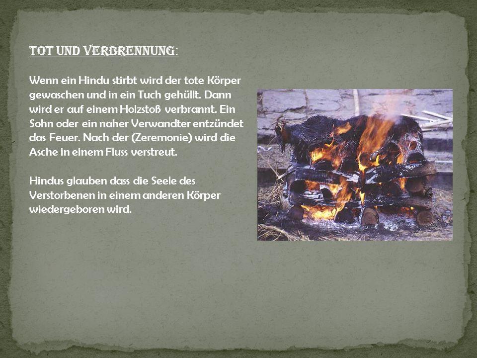 Tot und Verbrennung: