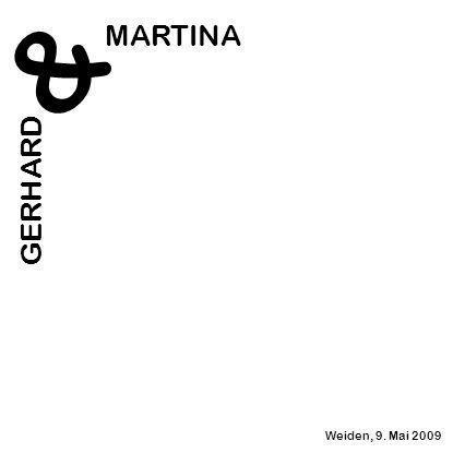 & MARTINA GERHARD Weiden, 9. Mai 2009