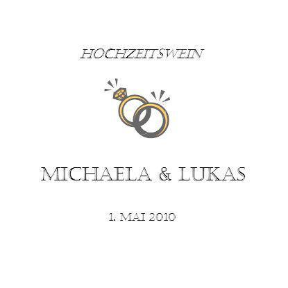 Hochzeitswein Michaela & LUKAS 1. Mai 2010