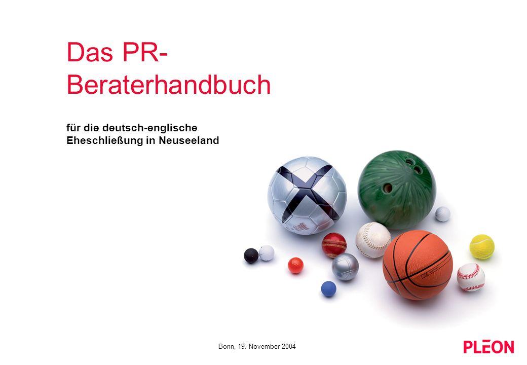 Das PR-Beraterhandbuch