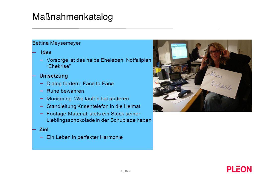Maßnahmenkatalog Bettina Meysemeyer Idee