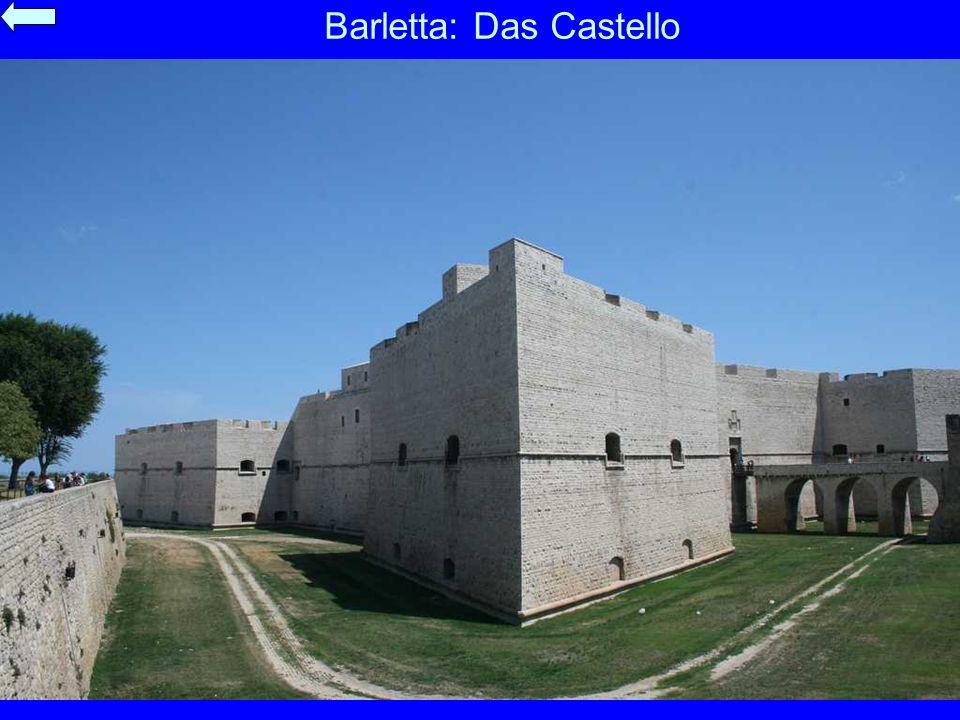 Barletta: Das Castello