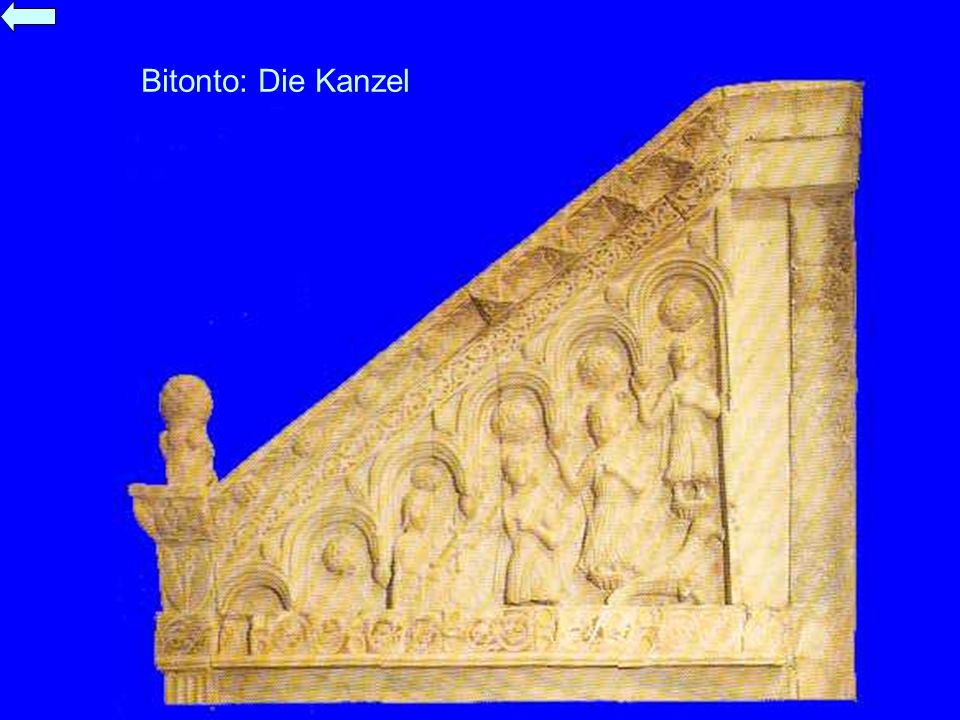 Bitonto: Die Kanzel