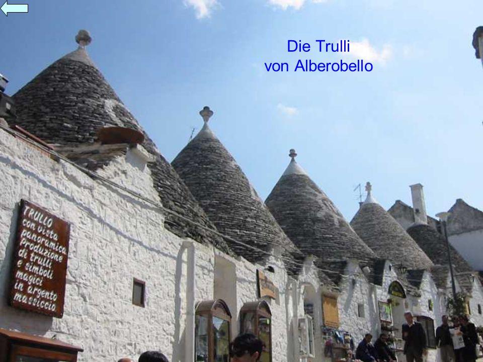 Die Trulli von Alberobello