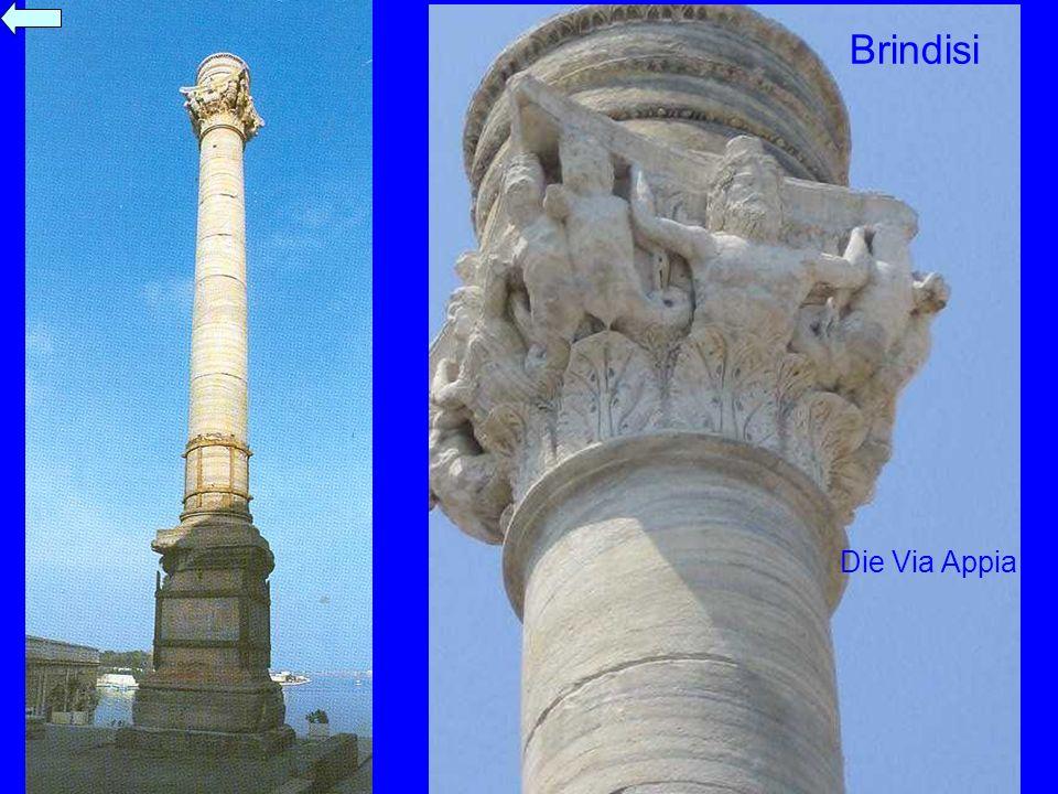 Brindisi Hackert Die Via Appia