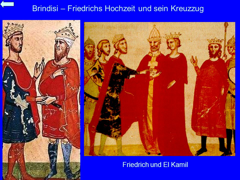 Brindisi – Friedrichs Hochzeit und sein Kreuzzug