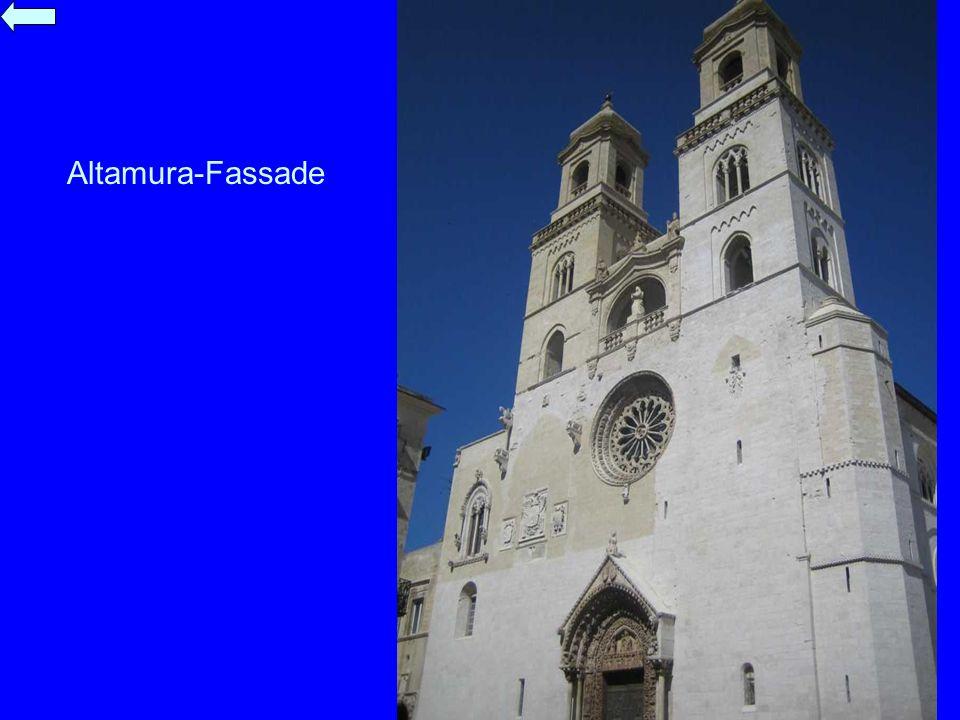 Altamura-Fassade