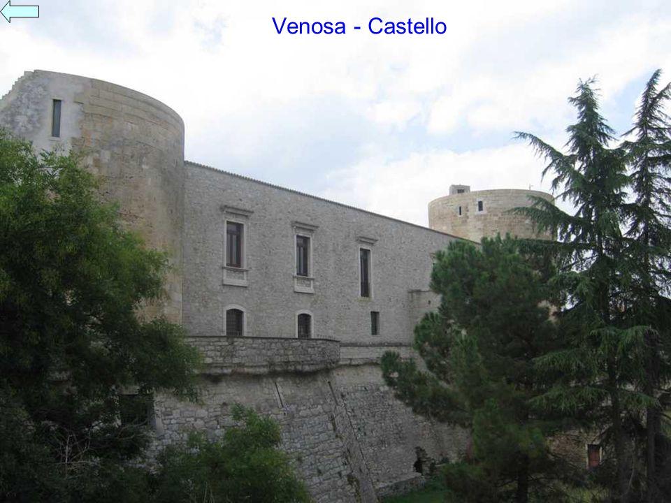Venosa - Castello