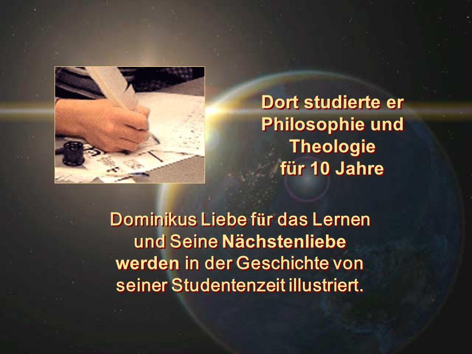 Dort studierte er Philosophie und Theologie