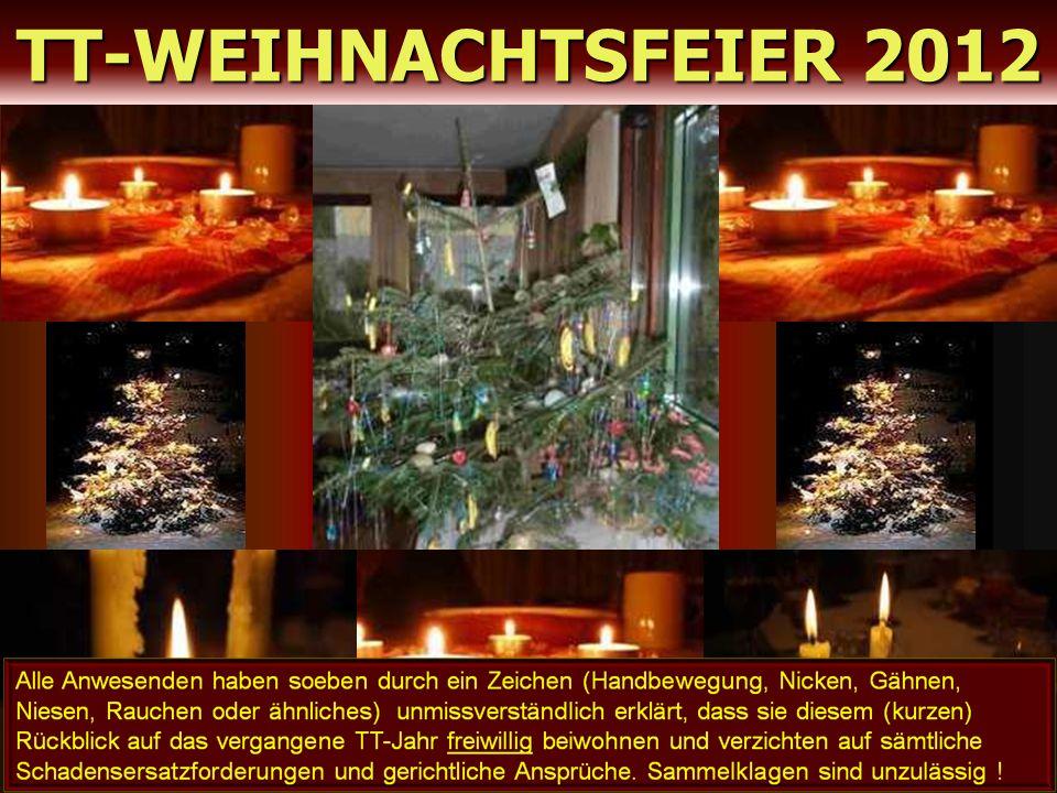 TT-WEIHNACHTSFEIER 2012