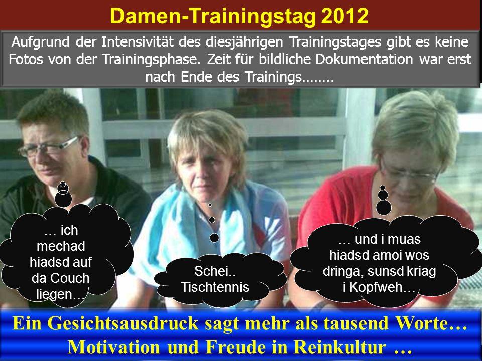 Damen-Trainingstag 2012