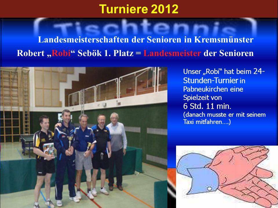 Landesmeisterschaften der Senioren in Kremsmünster