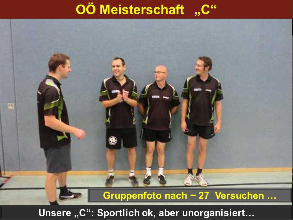 """OÖ Meisterschaft """"C Gruppenfoto nach 6 Versuchen …"""