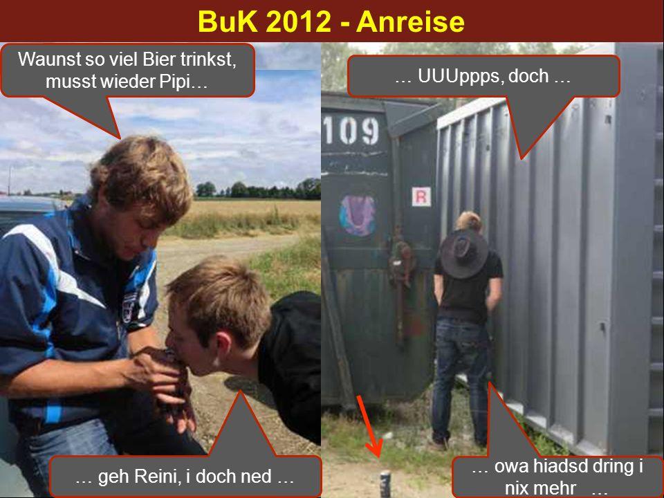 BuK 2012 - Anreise 1. Anreisefoto nach (alter) TT-Tradition
