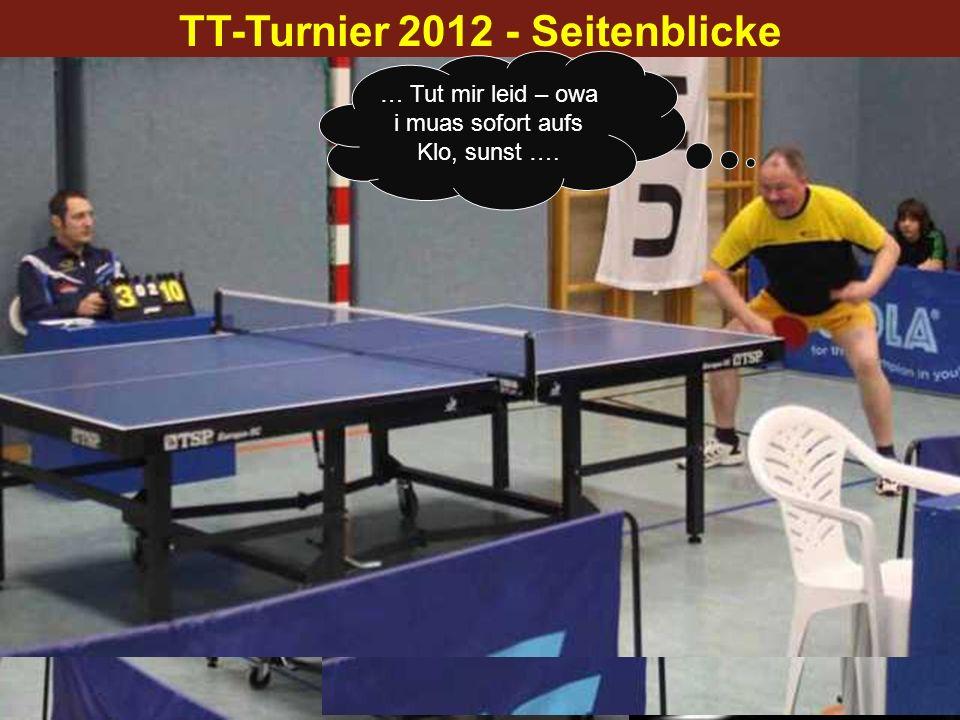 TT-Turnier 2012 - Seitenblicke