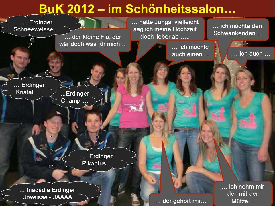 BuK 2012 – im Schönheitssalon…