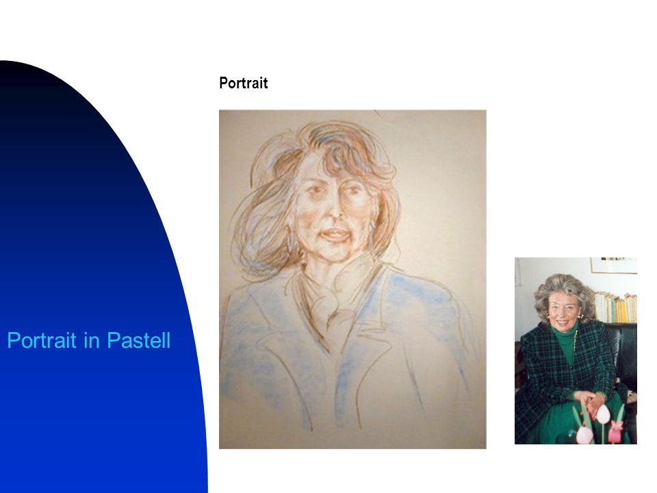 Portrait Portrait in Pastell