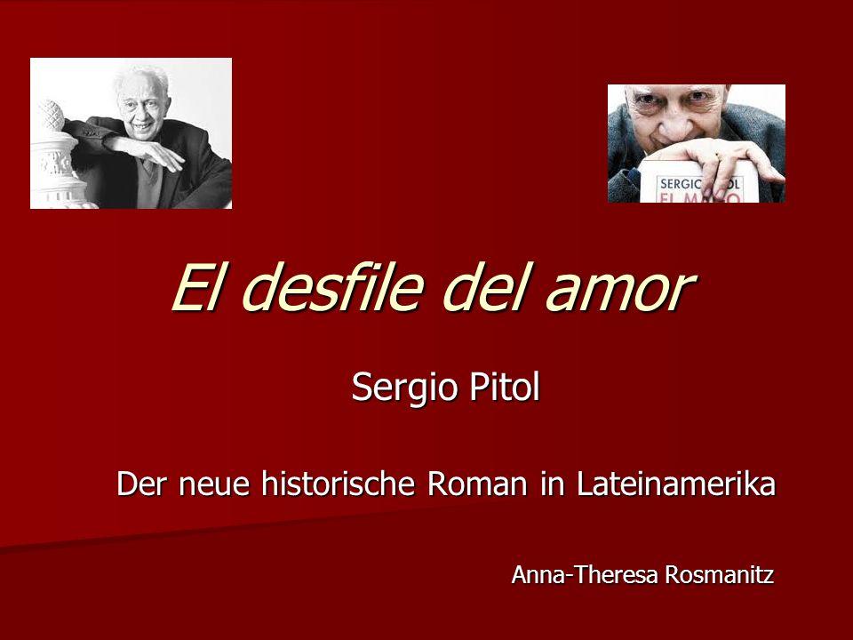 El desfile del amor Sergio Pitol