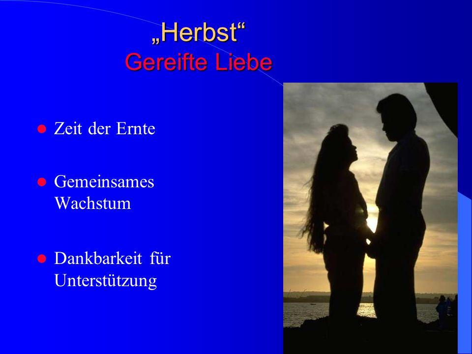 """""""Herbst Gereifte Liebe"""