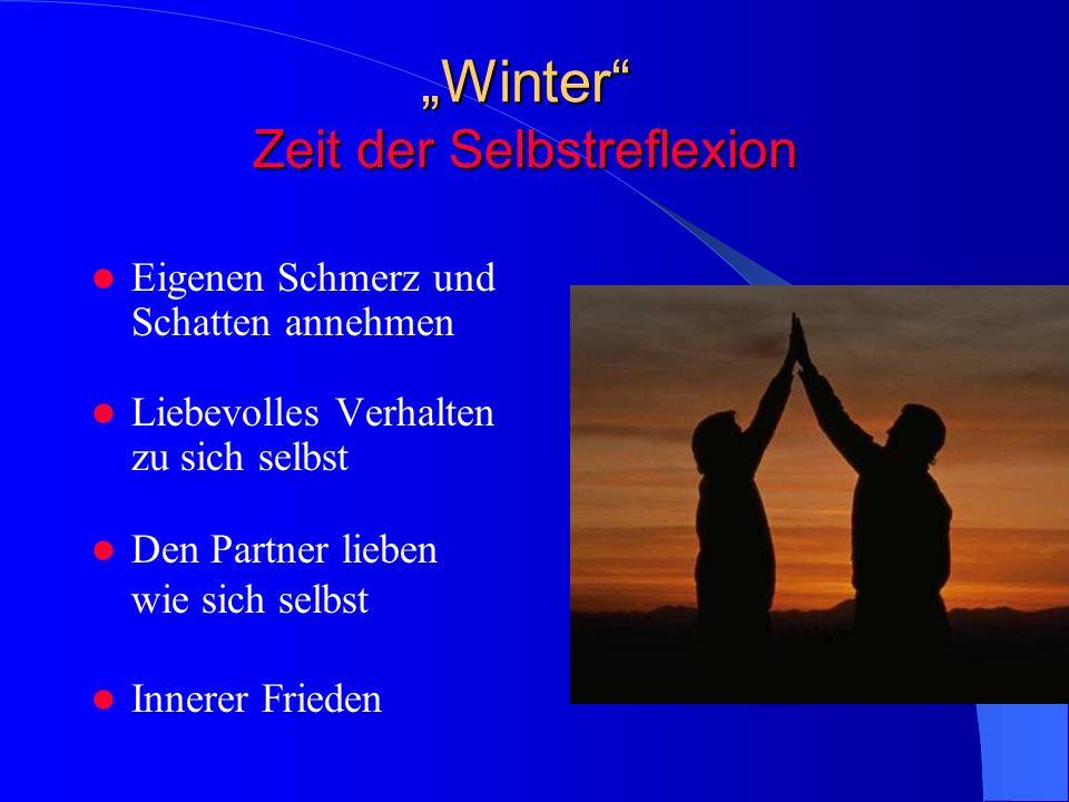 """""""Winter Zeit der Selbstreflexion"""