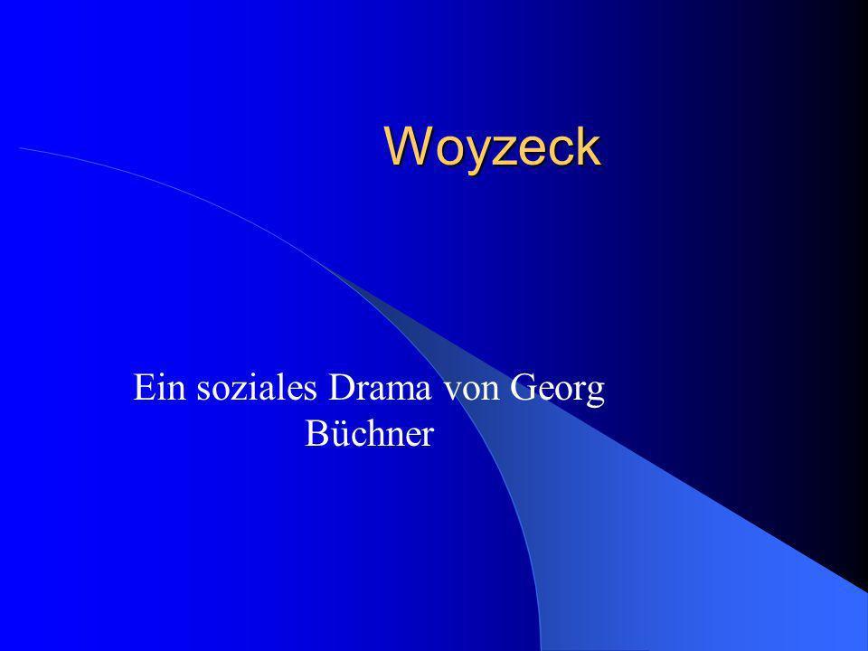 Ein soziales Drama von Georg Büchner