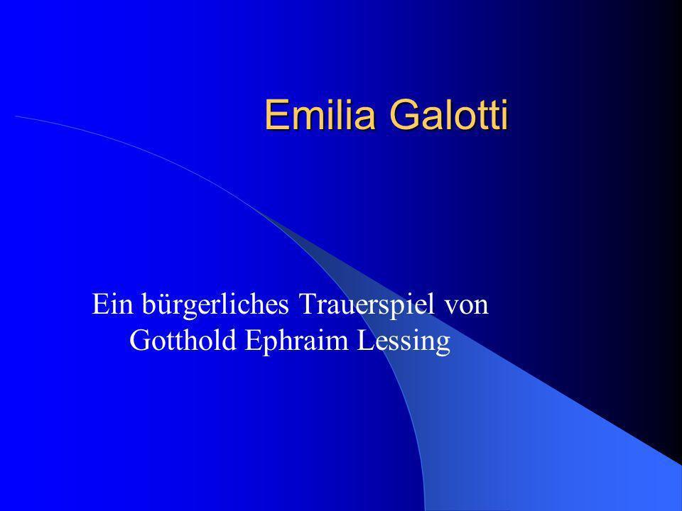 Ein bürgerliches Trauerspiel von Gotthold Ephraim Lessing