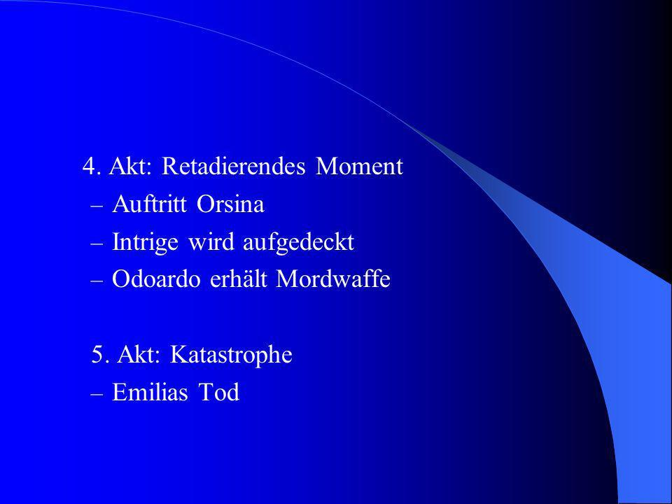 4. Akt: Retadierendes Moment