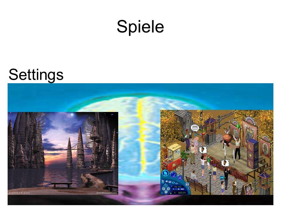 Spiele Settings