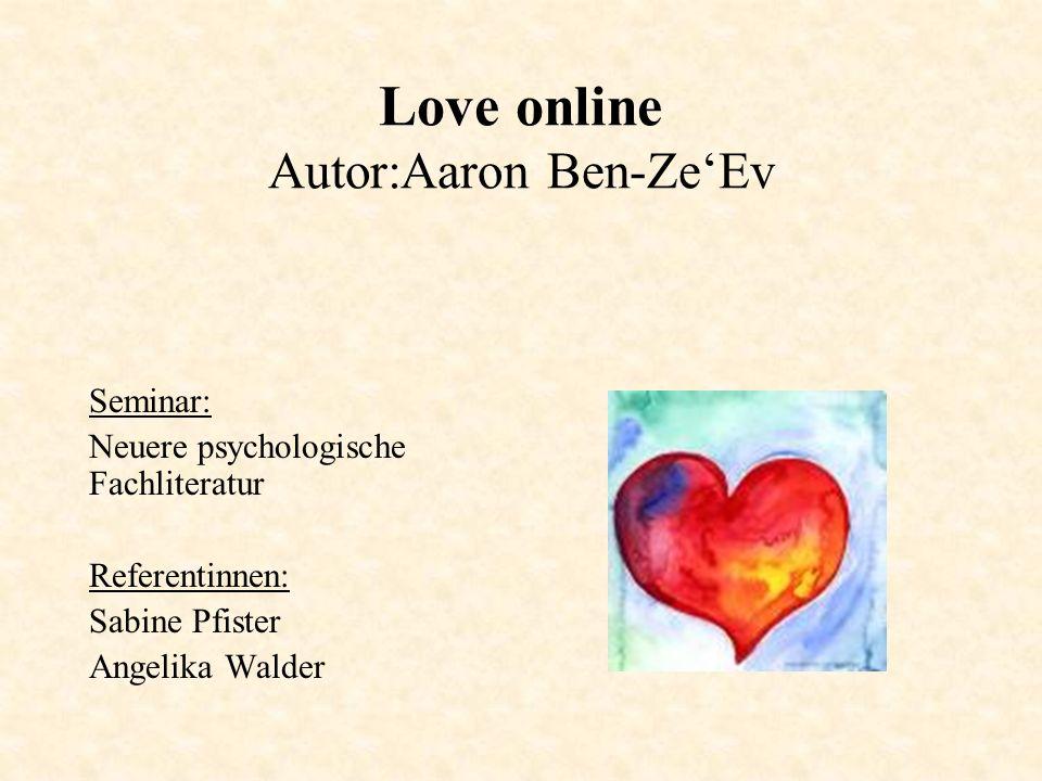 Love online Autor:Aaron Ben-Ze'Ev