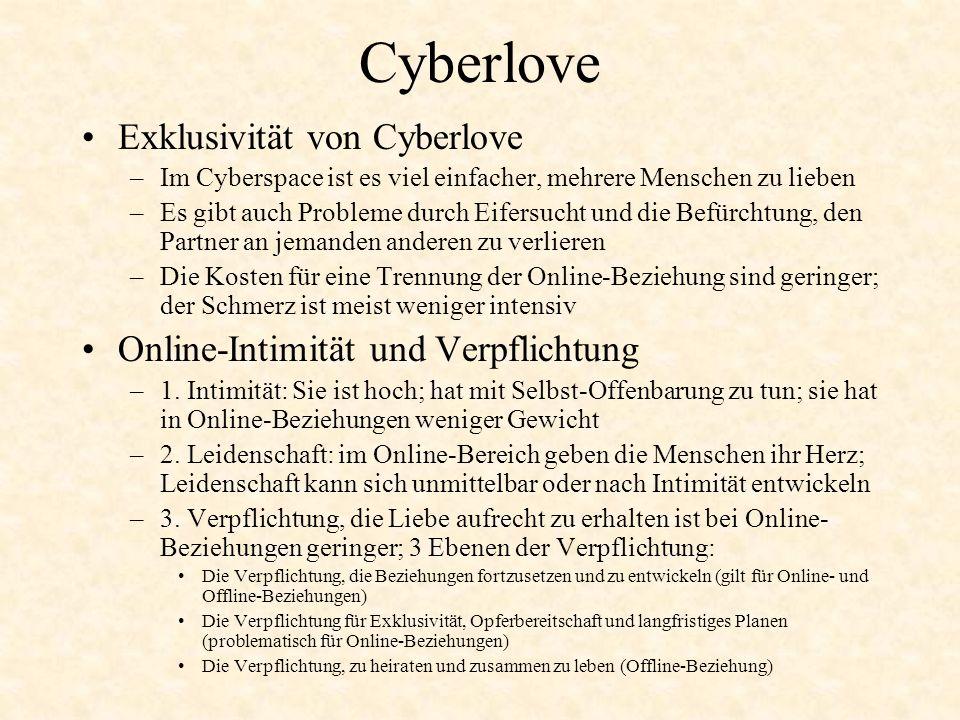 Cyberlove Exklusivität von Cyberlove