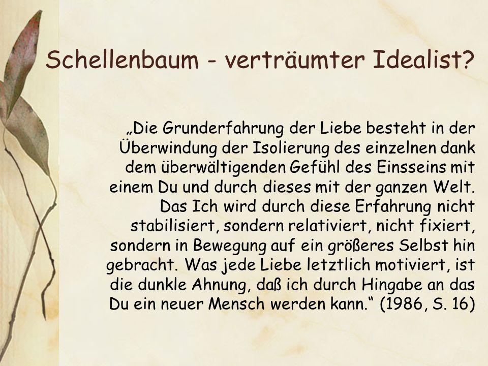 Schellenbaum - verträumter Idealist