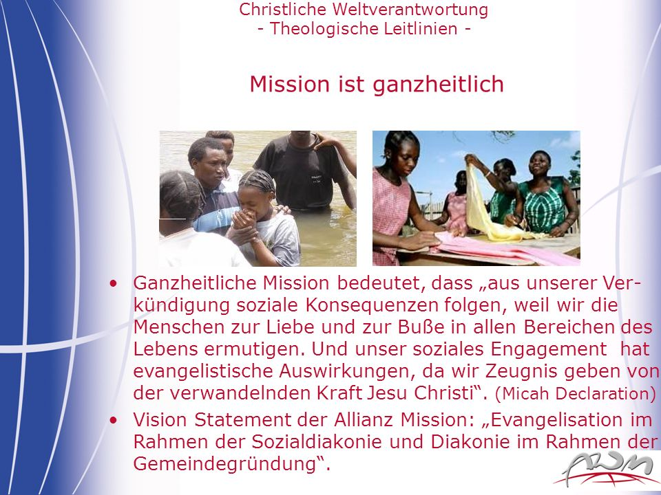 Mission ist ganzheitlich