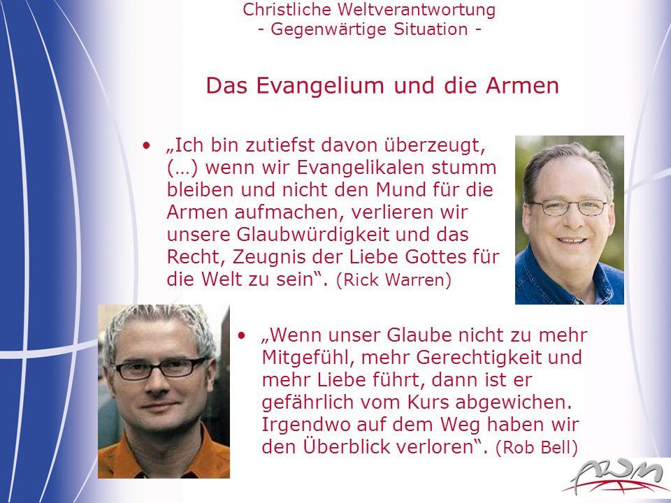 Das Evangelium und die Armen