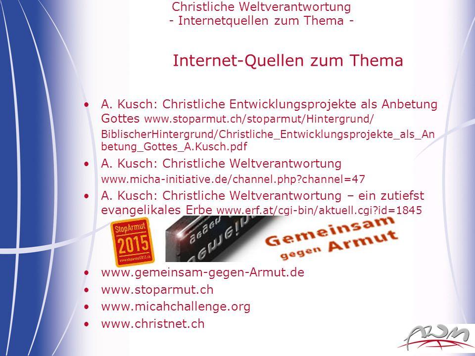 Internet-Quellen zum Thema