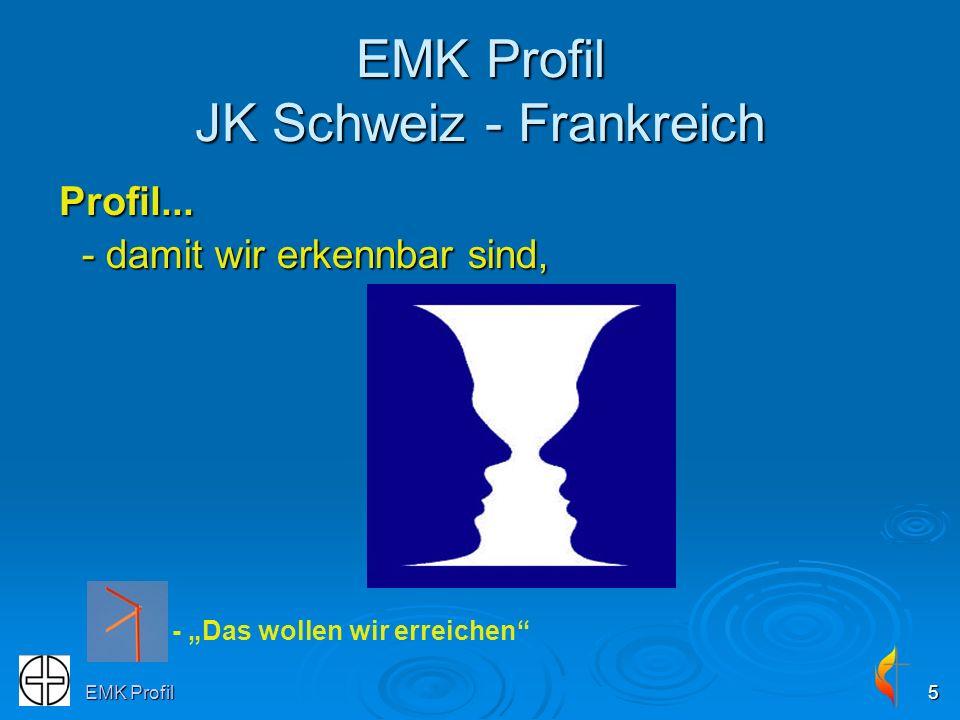 EMK Profil JK Schweiz - Frankreich