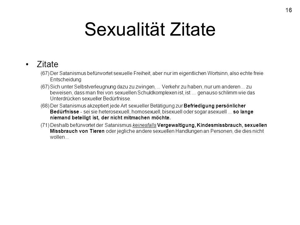 Sexualität Zitate Zitate