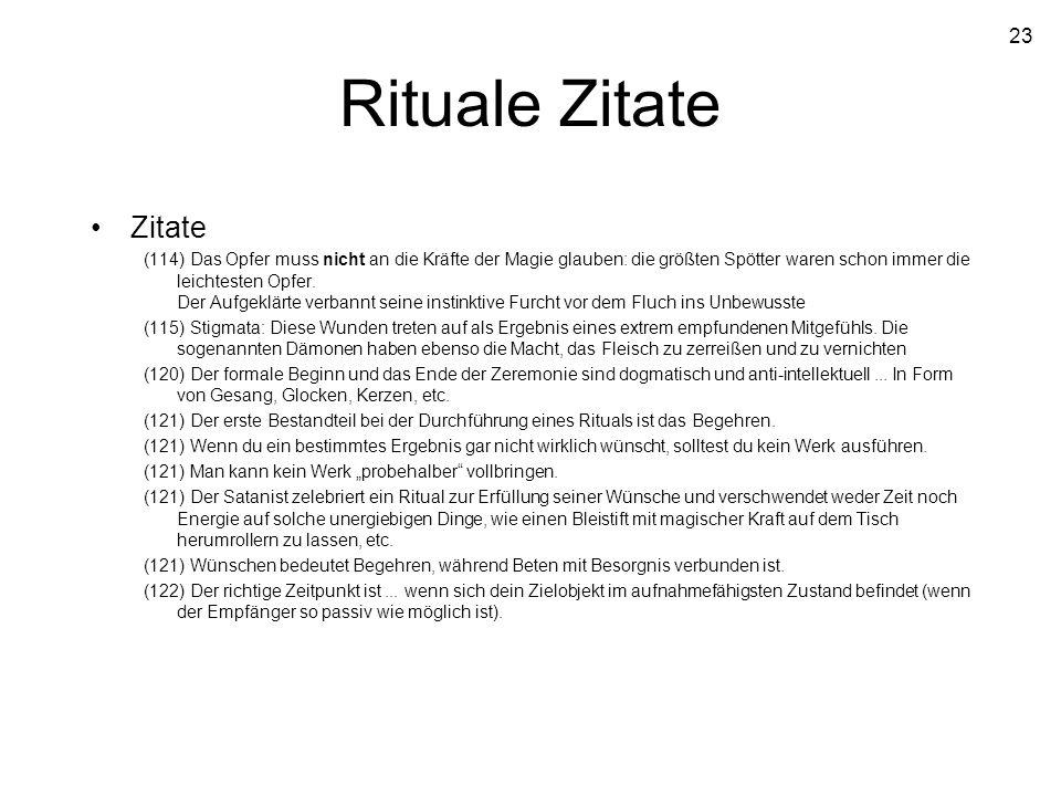 Rituale Zitate Zitate.