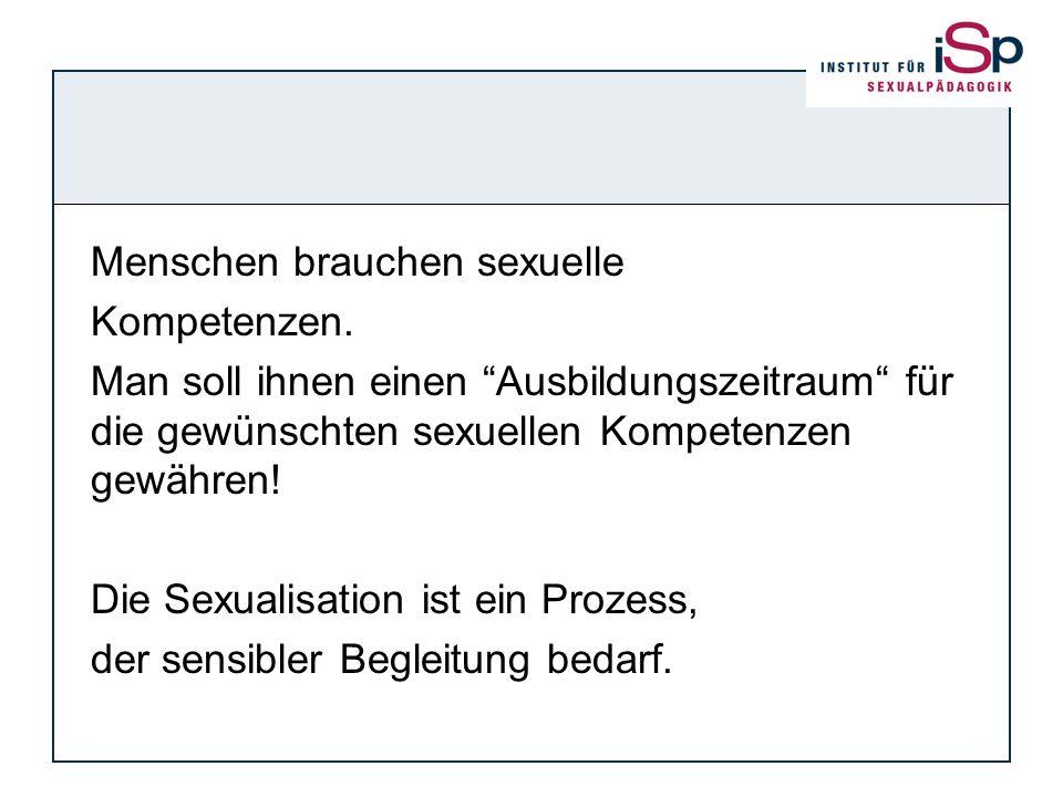 Menschen brauchen sexuelle