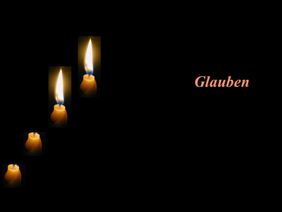 Die zweite Kerze flackert und sagt: