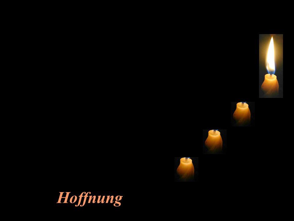 Da meldet sich die vierte Kerze zu Wort: