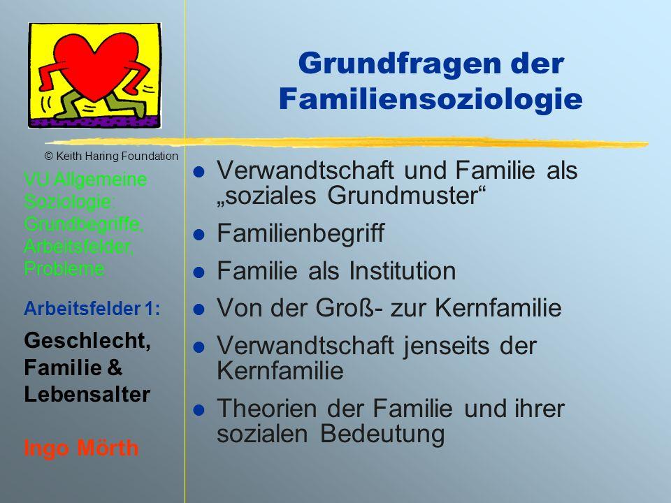 Grundfragen der Familiensoziologie