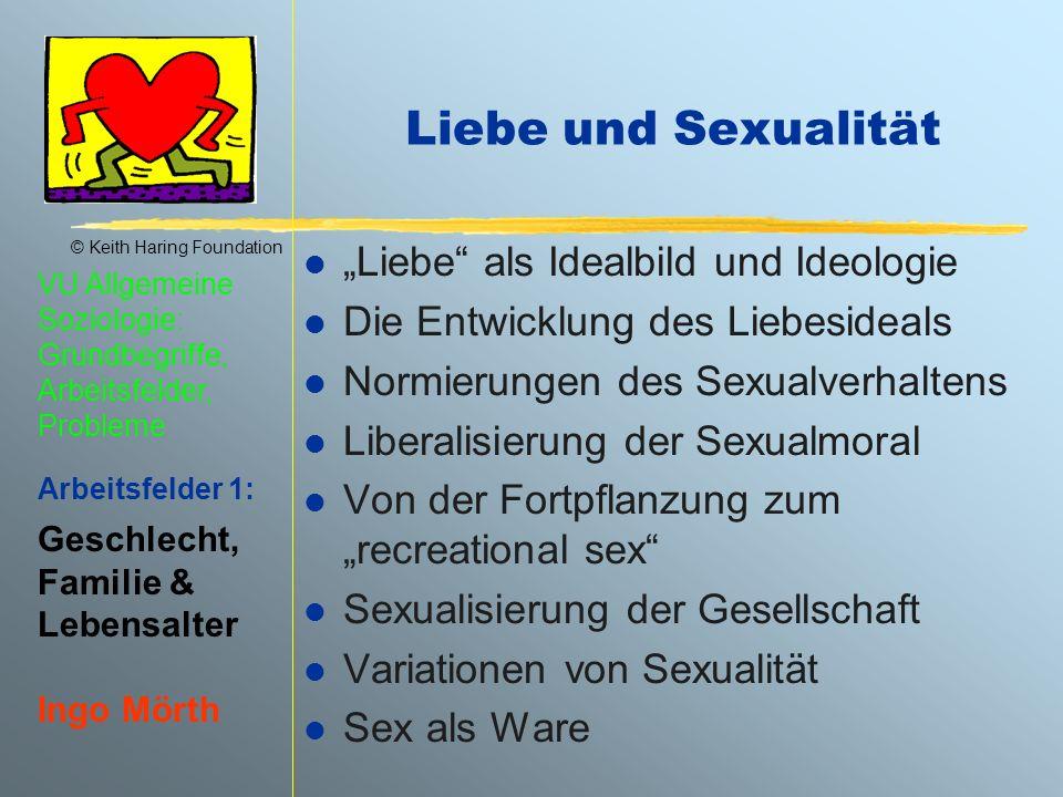 """Liebe und Sexualität """"Liebe als Idealbild und Ideologie"""