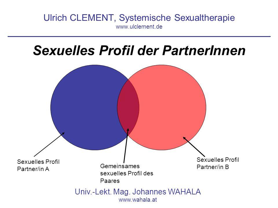 Ulrich CLEMENT, Systemische Sexualtherapie www.ulclement.de