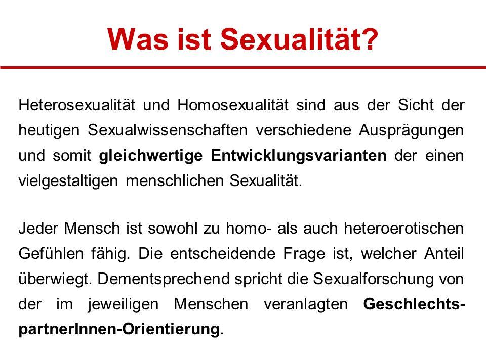 Was ist Sexualität
