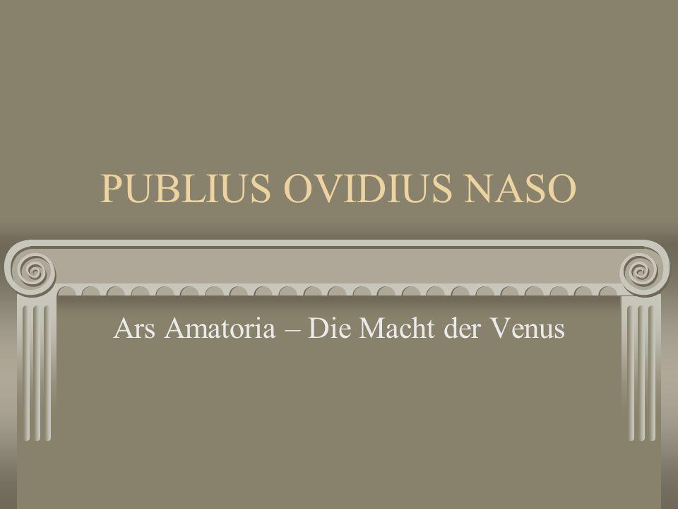 Ars Amatoria – Die Macht der Venus