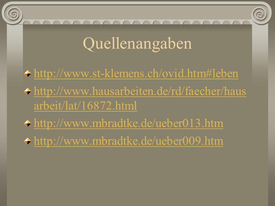 Quellenangaben http://www.st-klemens.ch/ovid.htm#leben